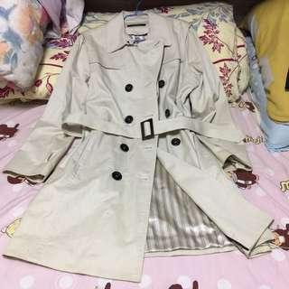 法國CAROLL 中長款風衣外套