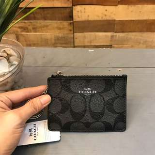 Coach mini zip purse