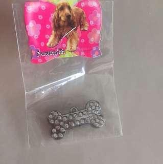Bling dog charm