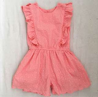 Mothercare Pink One-piece Romper / Overalls
