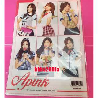 Apink [ Double-sided folder ] ★hkko2001a★ L-holder 資料夾 文件夾