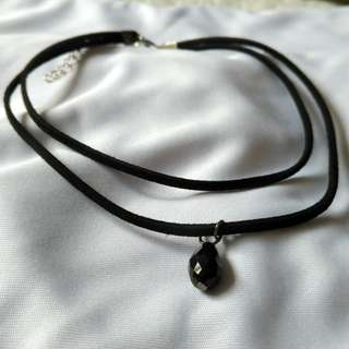 Black Choker Necklace (NEW)