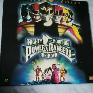 Power Rangers x 1 LD Disc