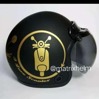 Helmet matrix bogo vespa