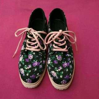 Docmart shoes flower