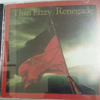 Music CD: Thin Lizzy ‎– Renegade