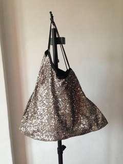 Glittery handbag