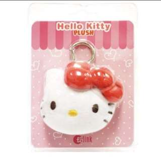 Instocks Hello Kitty Charm ezlink red/pink