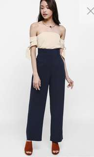 LB Morie High Waisted Pants Navy S