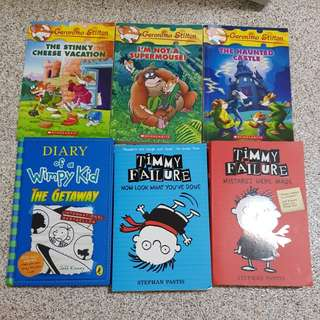 Assorted Used Childrens Books