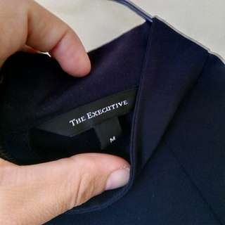 The Executive Navy Blouse