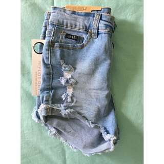 Refuge denim shorts 8