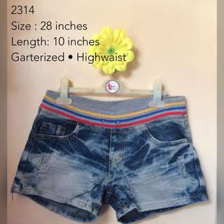DENIM SHORTS 2314