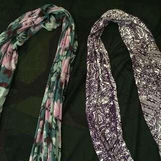 scarf batikc bunga (shawl)