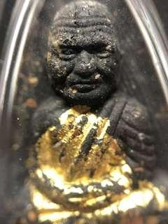 ✅ Thai Amulet - Lp Thuad Gold Foil - 3 Tarkuts - Takruts - Thai Amulets