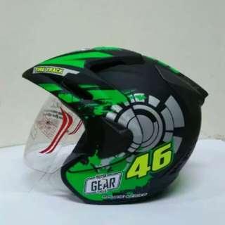 Helmet thi rokie 46 half face