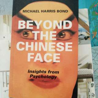 Beyond the Chinese face, insight ftom psychology