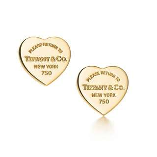 Authentic Tiffany earrings