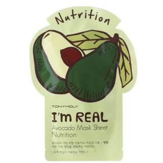 Tony moly avacodo nutrition mask