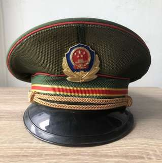 中華人民共和國 武警軍帽