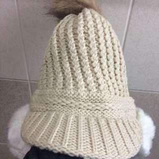 🚚 全新遮耳毛帽