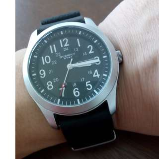 Eyki Watch - Seiko SNZG15 Homage