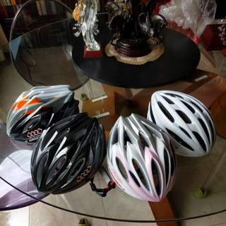 New helmet for bicycle