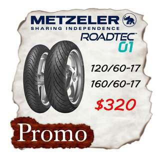 Metzeler RoadTec 01 Promotion