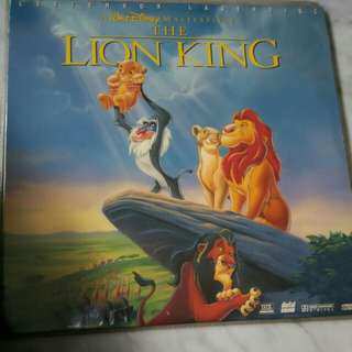 The Lion King x 1 LD Discs