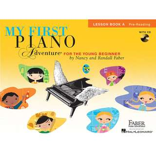 MY FIRST PIANO ADVENTURE LESSON BOOK A (WITH CD AND ONLINE AUDIO)
