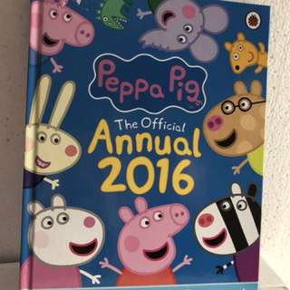Peppa pig annual book 2016
