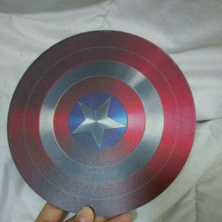 BN with defect Captain America Shield mousepad free postage