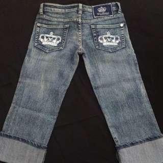 Victoria Beckham for Rock and Republic Capri Jeans Size 27