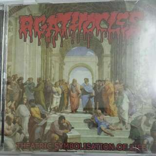 Music CD: Agathocles ‎– Theatric Symbolisation Of Life - Grindcore, Metal