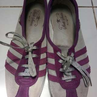 Adidas authentic purple