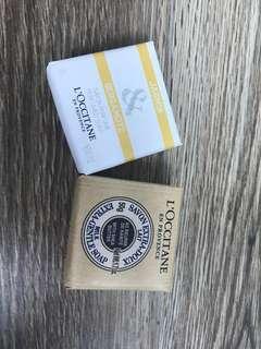 New Loccitane soap bar