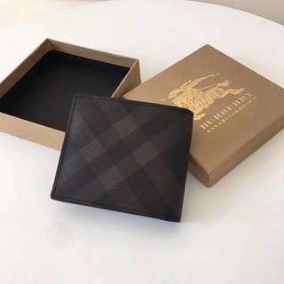 Burberry Men's Short Wallet Brown colour