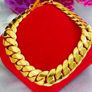 GOLD 916 BRACELET DUNHILL