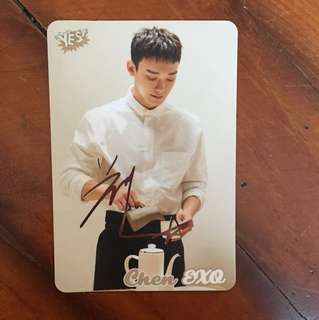 EXO Chen yes card