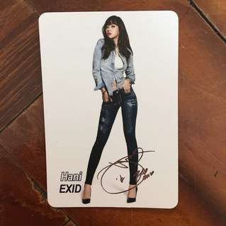 EXID Hani yes card