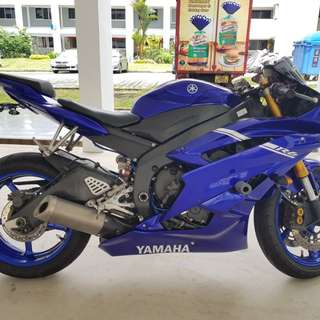 Yamaha R6 Grounding Kit
