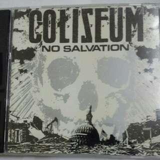 Music CD: Coliseum –No Salvation - Hardcore/Punk, Relapse Records