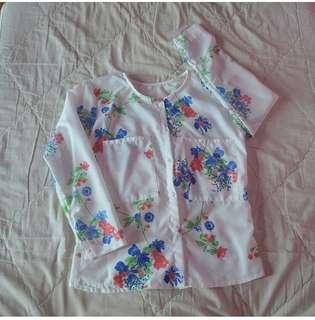 blouse flowerrrr