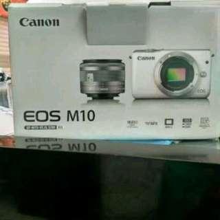Canon EOS M10 Kit 15-45mm Kredit mudah tanpa kartu kredit