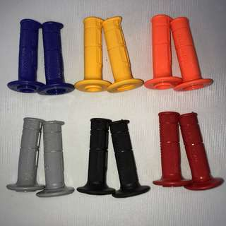DOMINO TRIAL MX MOTOCROSS MOTO GRIPS COLOURS LELONG SALE