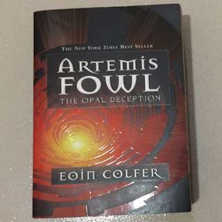 Artemis Fowl: The Opal Deception (Book 4 of 8)
