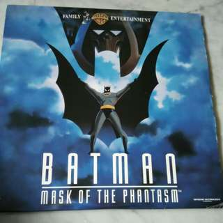Batman Mask Of the Phantasm x 2 LD Discs