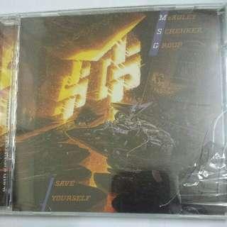 Music CD (Sealed): McAuley Schenker Group–Save Yourself - Hard Rock