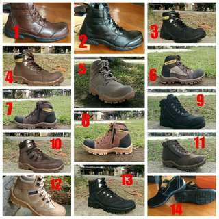 Safety boots morisey, armour and hydraulic type