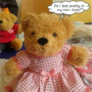 Mini Clothes for bears & dolls